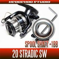 シマノ 20ストラディックSW 4000HG,4000XG用 スプールシャフト1BB仕様チューニングキット Lサイズ(ソルトウォーターフィッシング・ショアジギ・オフショア)