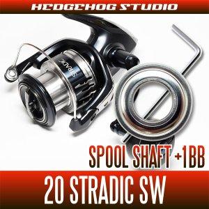 画像1: シマノ 20ストラディックSW 4000HG,4000XG用 スプールシャフト1BB仕様チューニングキット Lサイズ(ソルトウォーターフィッシング・ショアジギ・オフショア)