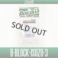【Avail/アベイル】ISUZU互換ブレーキブロック 3mm [B-BLOCK-ISUZU-3] 遠心ブレーキ CNQ50-38対応対応