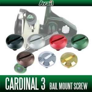 画像1: 【Avail/アベイル】ABU カーディナル3用 アルミベイルマウントスクリュー