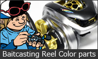 Baitcasting Reel Custom Parts