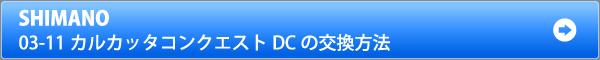 03-11カルカッタコンクエストDCシリーズのベアリング交換方法